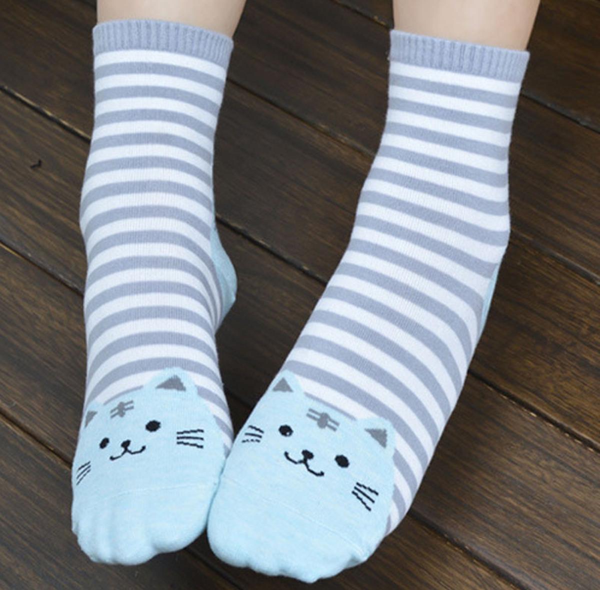 X Ponožky s pruhy e334099c84